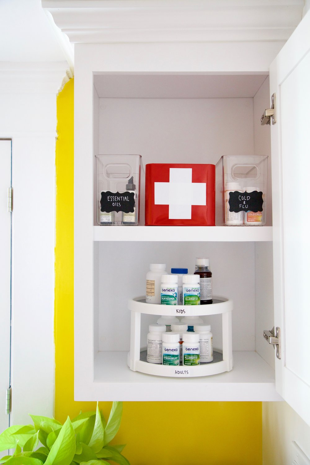 How to Organize Vitamins and Medicines in the Kitchen — Julianna ...