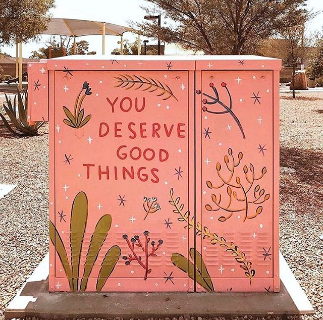 It's true! ✨(📷 & mural by @abbiepaulhus)