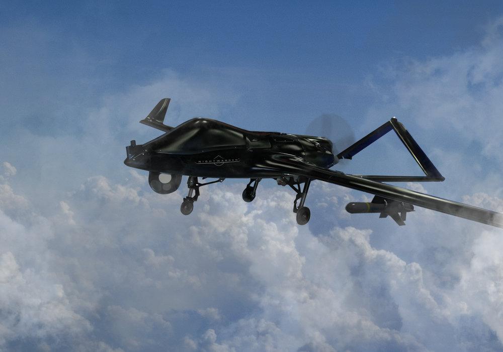 Nightwarden flying 4 (Fixed landing gear).jpg