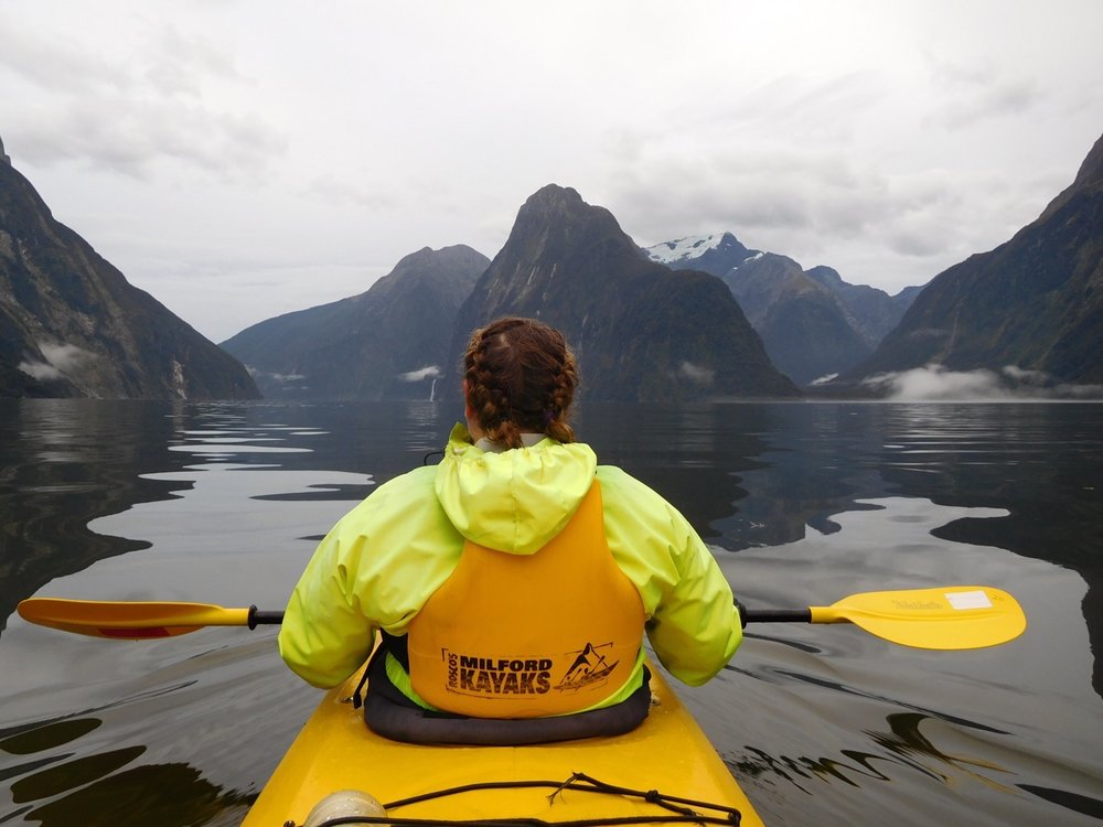 Milford Sound_NZ_Kayaking_Jess