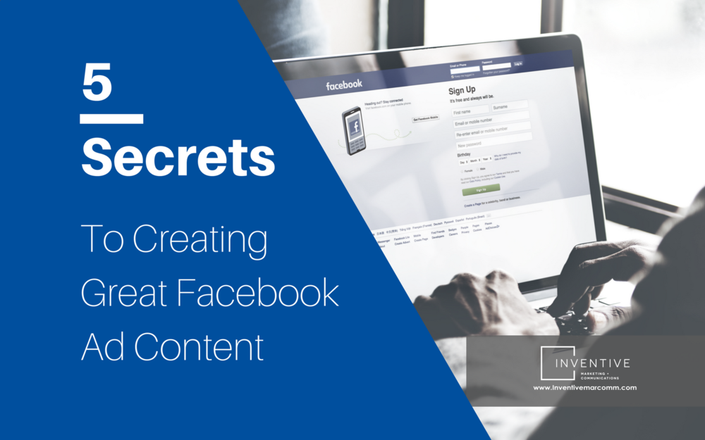 blogcover - 5 secrets to creating great facebook ad content.png