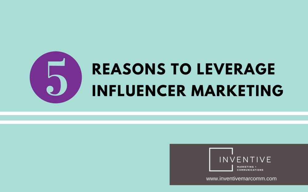 blogcover - 5 reasons to leverage influencer marketing.png
