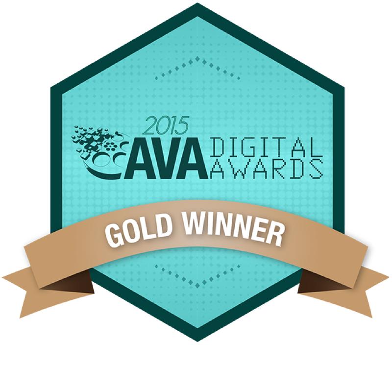 AVA award Gold