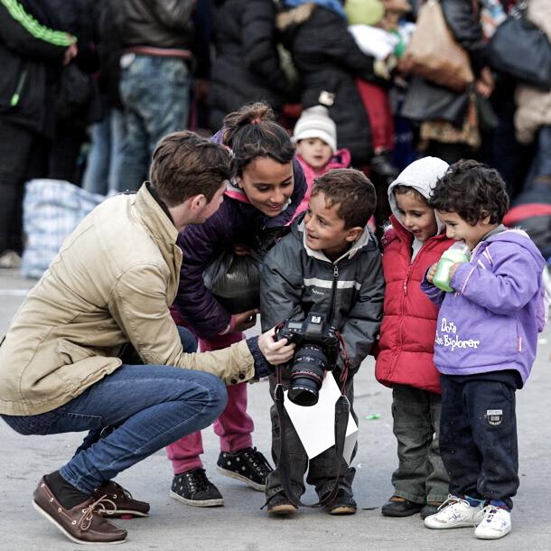Austrian - Hungarian border, Refugee Crisis 2015