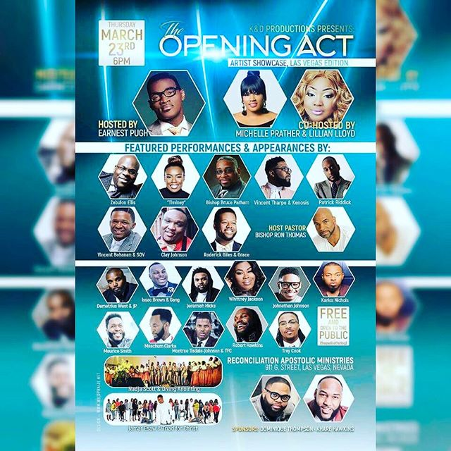You don't want to miss #TheOpeningAct In Las Vegas🔥🔥 @theelitecomplex 💯