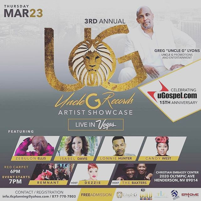 Meet Us in Vegas! @greguncleglyons along with these great folks! 💯💯