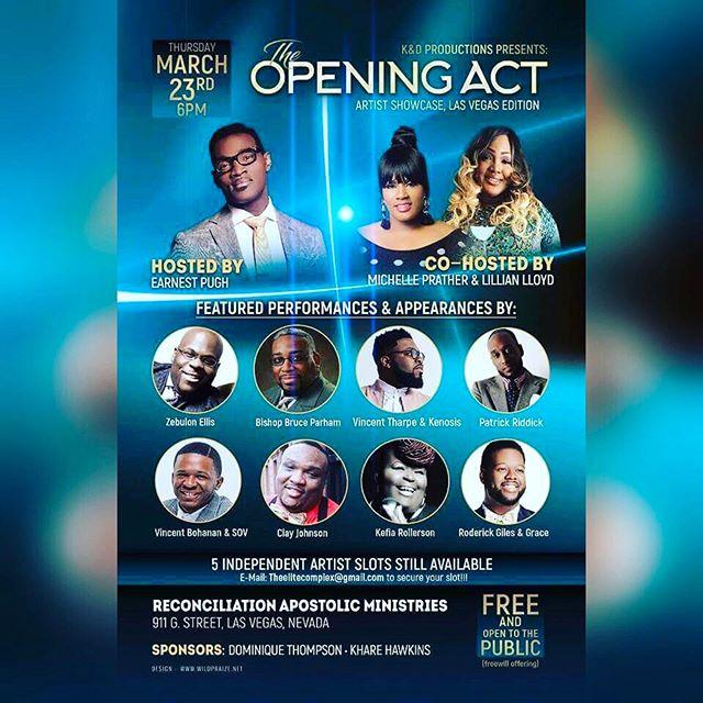 @theelitecomplex  Presents #OpeningAct Meet us here in Vegas!!