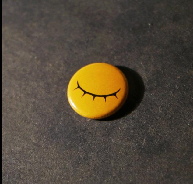 Unseeing Eye Pin Badge - £1