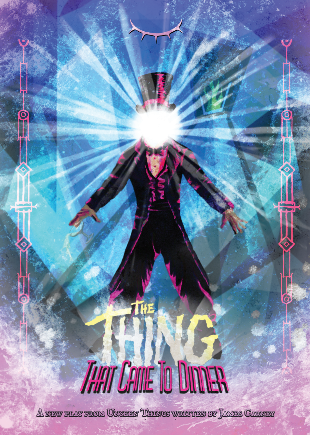 The Thing That Came To Dinner A2 Poster - £10