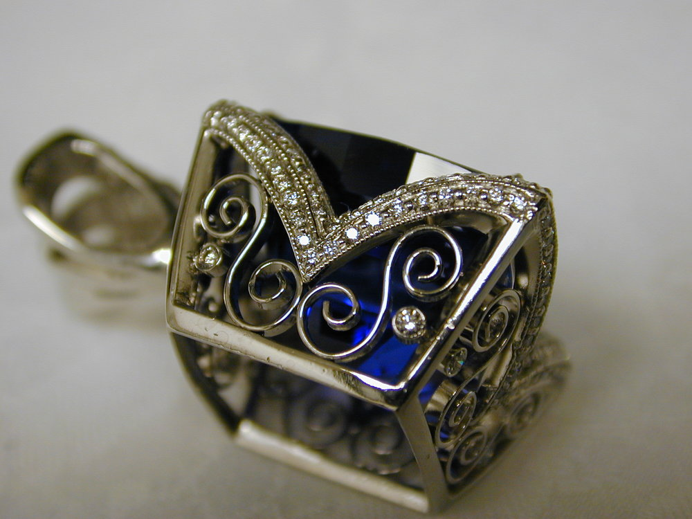 Custom Jewelry Design by Isaac Kornhauser