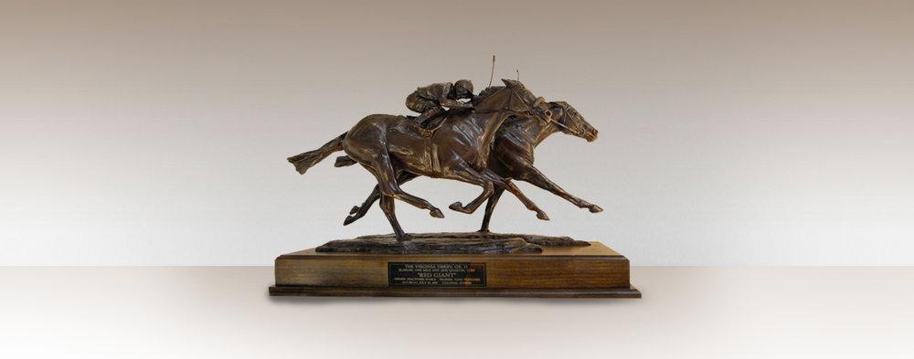 bronze-trophy-horse-statue-award