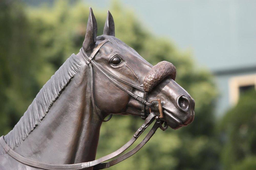 horse-bronze-statute-equine-sculpture-nina-kaiser-john-henry