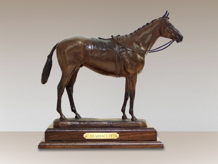 seabiscuit-bronze-horse-sculpture