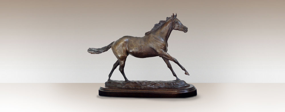 running-free-bronze-horse-sculpture