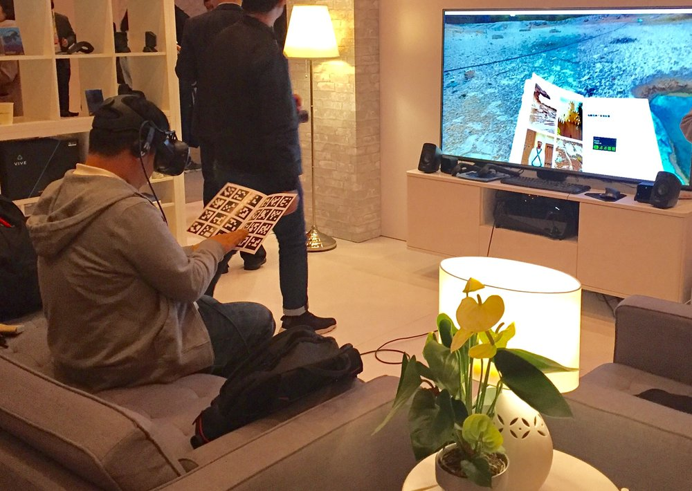 The VR living room @ CES