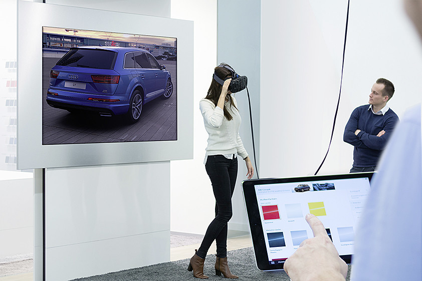 Audi VR Experience  created by Audi in collaboration with ZeroLight