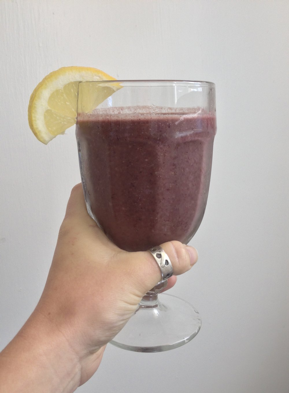 Lemon-Blueberry Pie Smoothie