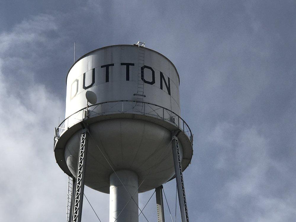 Dutton Water Tower