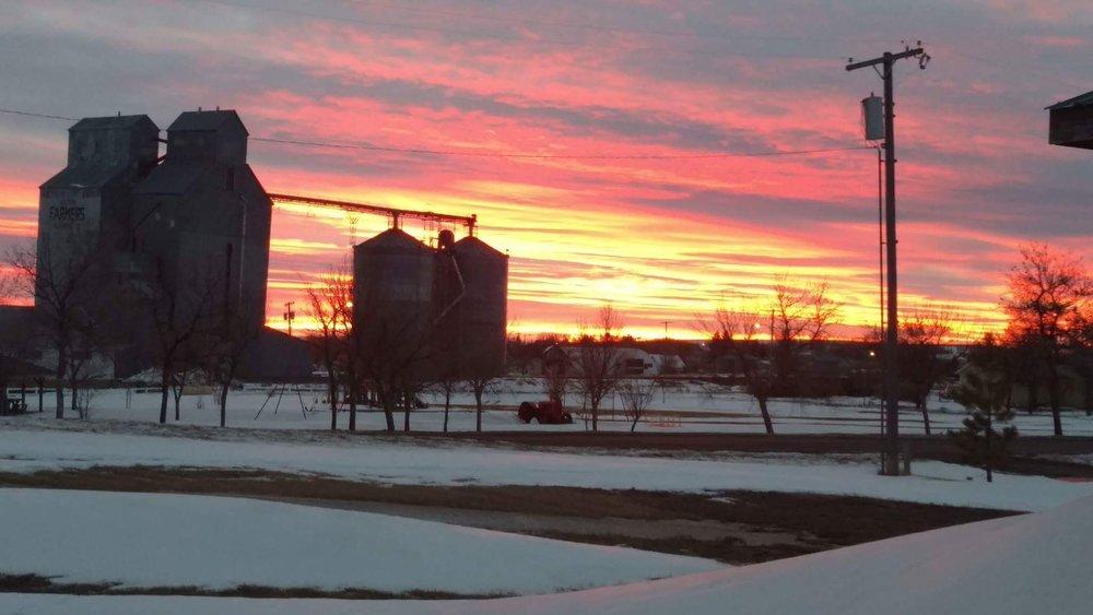 Dutton Winter Sunset