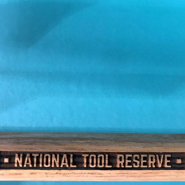 #nationaltoolreserve #sheppid #laseretch #ashwood #handle for our new #tool #brand #raster @torontolaserservices