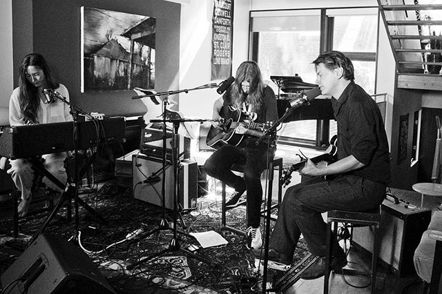 Tune into @CBC_music tonight at 8pm to hear @julytalk and I cover Joni Mitchell... as wells as SO MANY other incredible artists! (I'm particularly stoked to hear @rufuswainwright ) @strombo @houseofstrombo Photo by @vanessaheins