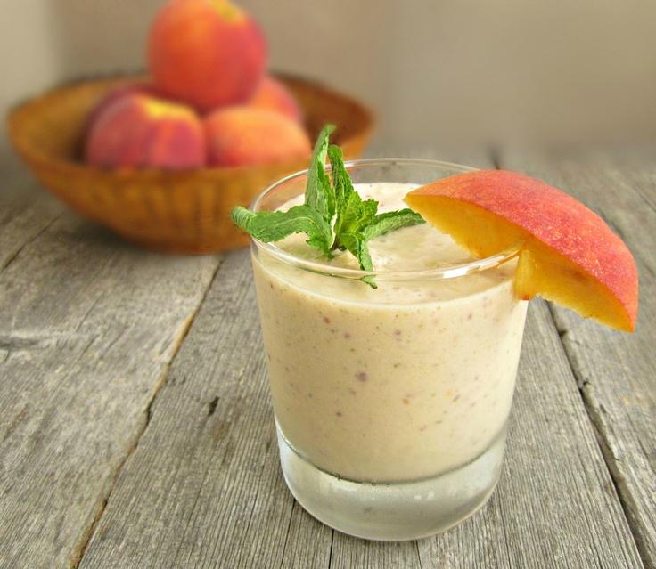 Creamy Peach Delight -