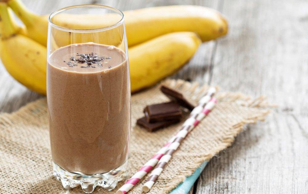 Chocolate Chunky Monkey Smoothie -