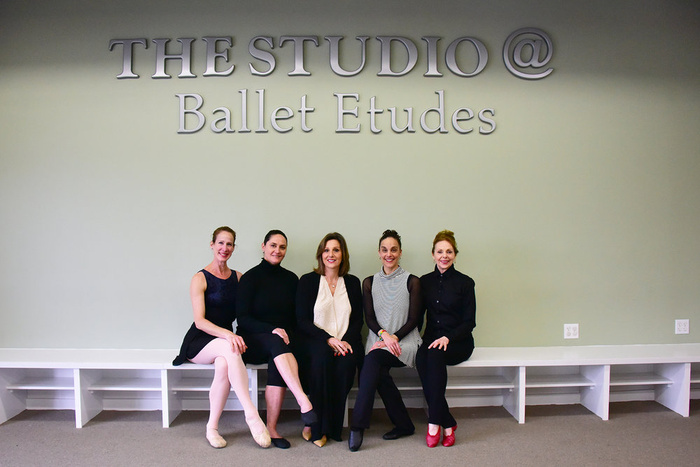 The Faculty of The Studio - Emily Hull, Maia Fitzpatrick, Nanette Vallas, Christina Fagundes & Stephanie Marini