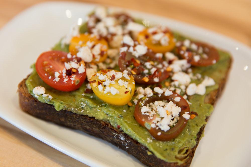 Avocado Pesto Toast