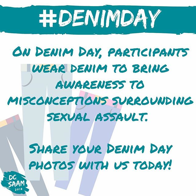 Today is #DenimDay! Be sure to share your denim with us today and use the #DCSAAM hashtag!