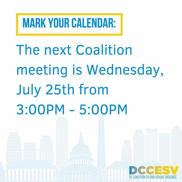Next meeting is July 25th! Be sure to follow us to stay up to date on upcoming events and updates on policy and legislation.