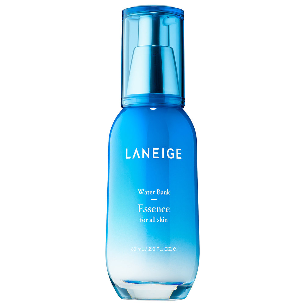 Laneige Water Bank Essence - a softening, smoothing and hydrating essence with a refreshing gel texture. Here
