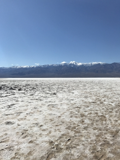 The expansive salt flats