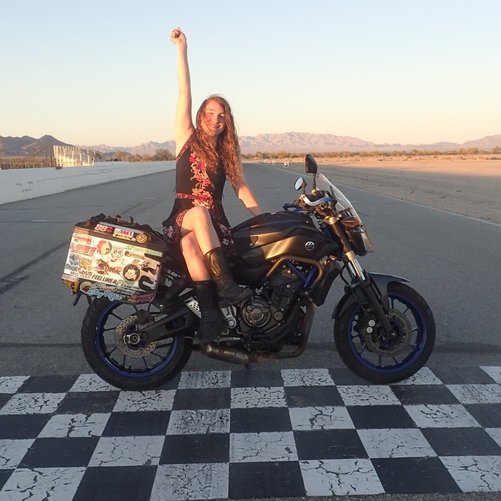 Tiffani Burkett - Tiffani Burkett was previously a software developer and motorcycle racer in Los Angeles, but has since left her 9 to 5 job to travel the world on her motorcycle. She's been on the road for over a year now, seeking out the beauty and wonder of diverse cultures and sights across the globe.Website