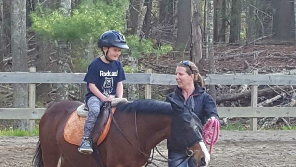 delaney babcock of rockland received a gift certificate for a beginner horseback riding lesson for her birthday she came to cranberry acres on thursday to - Horseback Riding Lesson Gift Certificate Template
