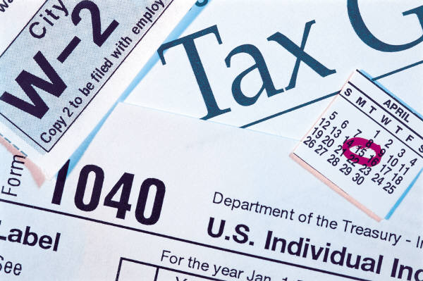 Taxes look gross, but filing them can be an OK process.