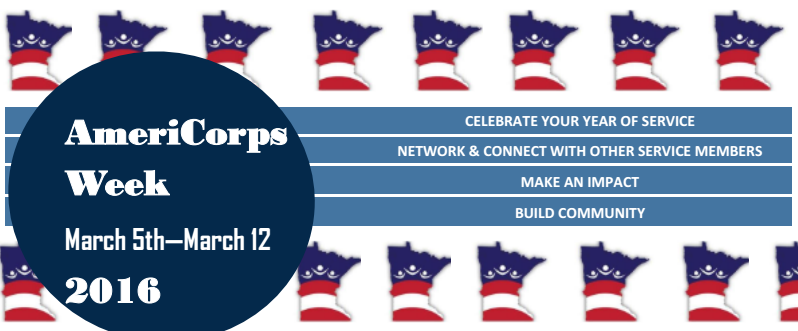 AmeriCorps Week Flyer