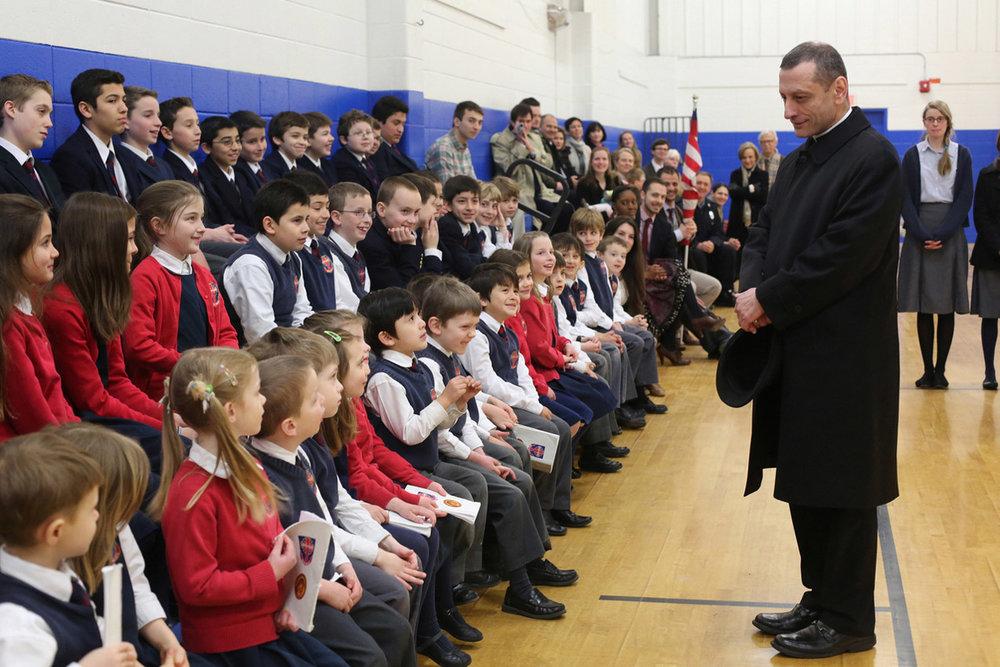Mass 1 Holy Communion