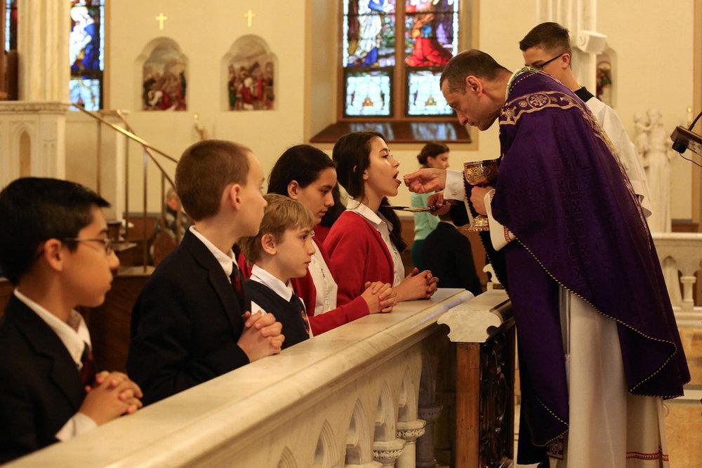 Mass 2 The Gospel Readings