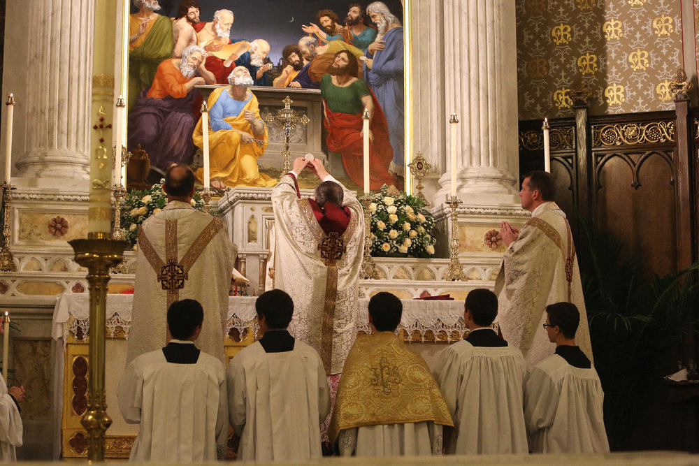 The Offertory Sacrifice of the Mass