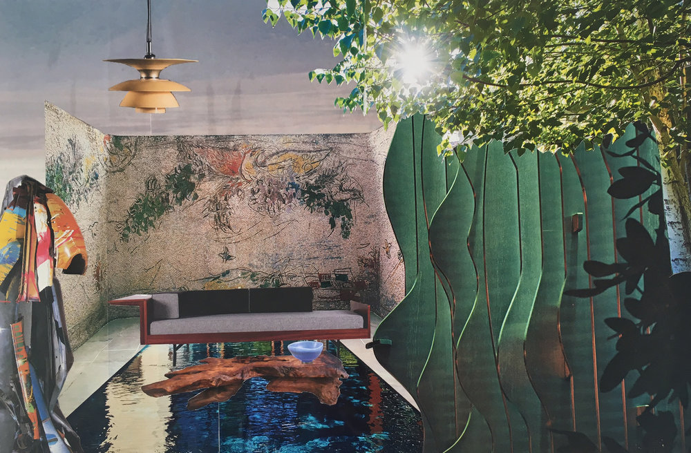"81 - KRISTEN McGINNIS Titled: ""Untitled"" Medium: collage"