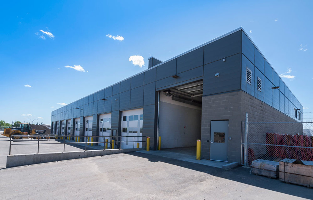 Kennedale Traffic Operations Complex (East & West Sites), City of Edmonton