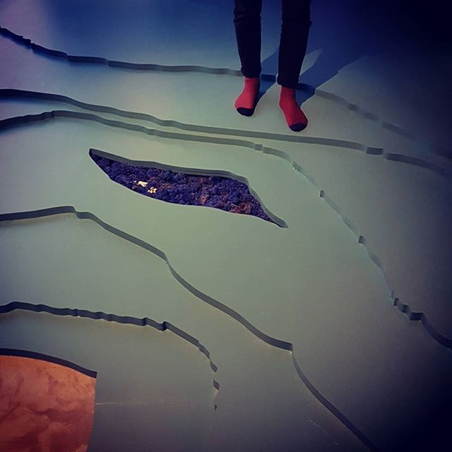 A few images from the opening of 'Deformation Attends Her' by Verity Birt. Delighted to have been able to collaborate with Verity in designing and installing the landscape floor for this exhibition, translating the lines of site specific works back into a topography for encounter.  #installationart #instaarchitecture #deformationattendsher #veritybirt #flooring #contours #landscape #landscapeart @v_e_z @blacktowerprojects