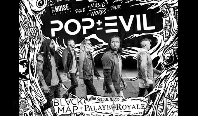 Black Map, Palaye Royale, Ronin