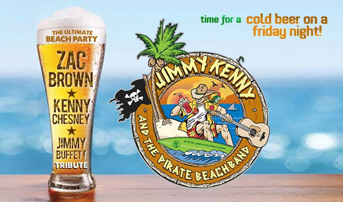 Playing the best of Jimmy Buffett, Kenny Chesney and Zac Brown + country and summer pop hits!