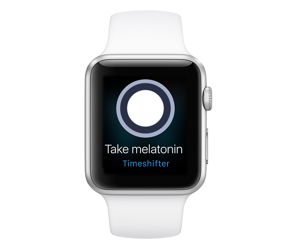 Use melatonin with the Timeshifter app for eliminating jet lag