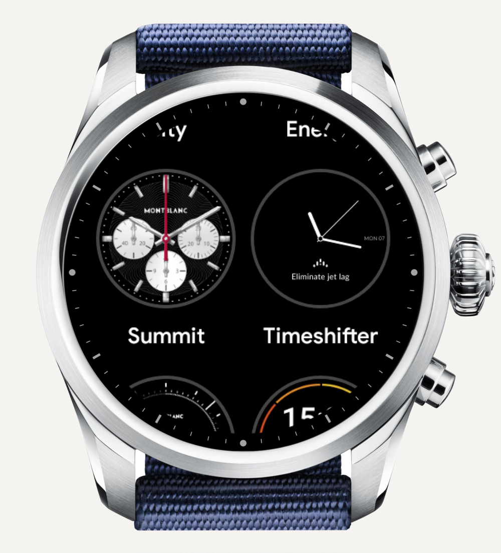 Select the Timeshifter watch face.