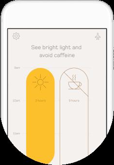 See bright light to eliminate jet lag.