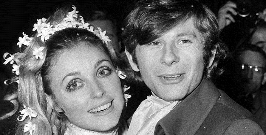 Sharon Tate and Roman Polanski Wedding