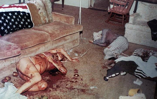 Brutal crime scene of Sharon Tate and Frykowski's